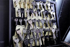 Locksmith keys