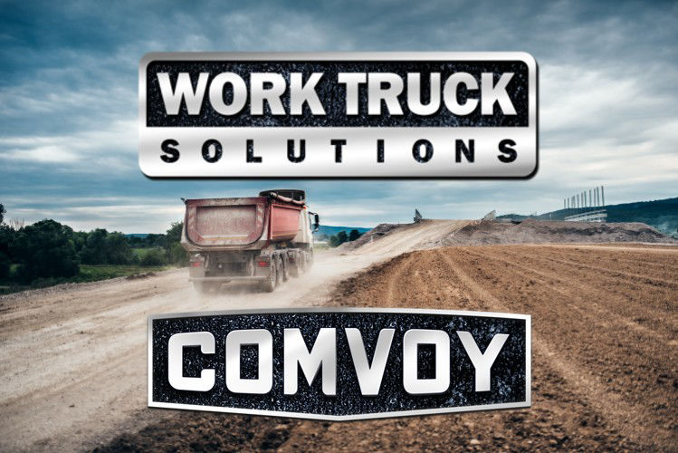 Work Truck Solutions and Comvoy.com Complete Commercial Truck and Van Dealership Online Sales Solution Home Page Picture