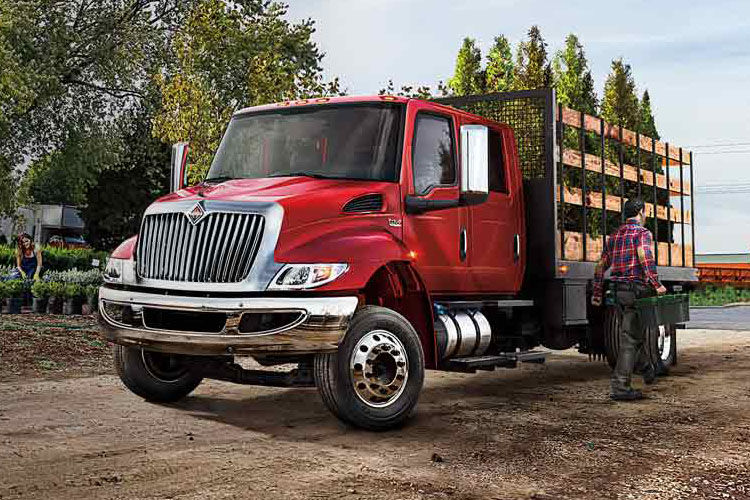 International Trucks Medium Duty CV Series MV Series Home Page Picture